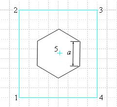 G-code generator for milling a hexagon